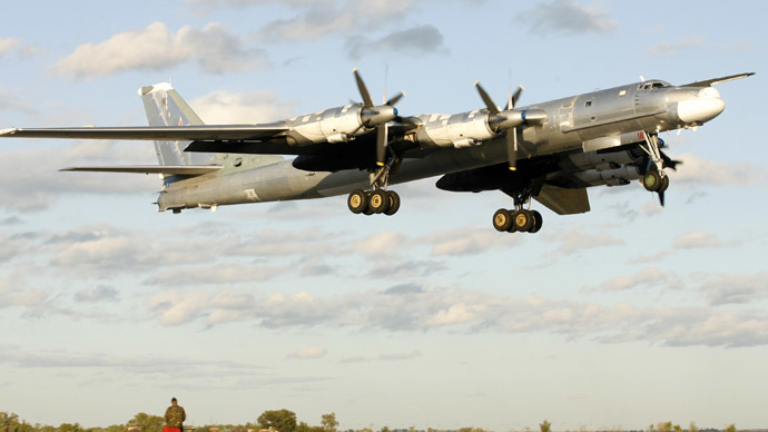 Russian strategic bombers reportedly practice nuclear missile strike against US