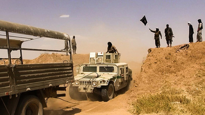 Islamic State of Iraq and the Levant (ISIL) militants (AFP Photo / HO)