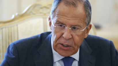 First sponsoring, now fighting? Lavrov on West's anti-ISIS op