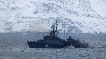 Military exercises of Russian Northern Fleet (RIA Novosti / Mikhail Fomichev)