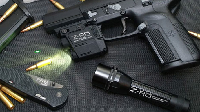 Don't blind me, bro! New 'non-lethal' police weapon isn't easy on the eyes
