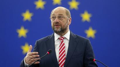 European Parliament President Martin Schulz (Reuters)