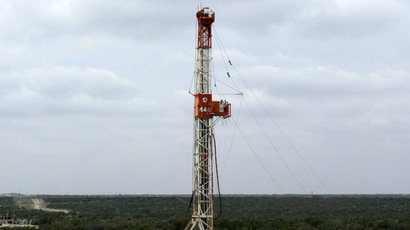 A rig contracted by Apache Corp drills a horizontal well in a search for oil and natural gas in the Wolfcamp shale located in the Permian Basin in West Texas (Reuters)