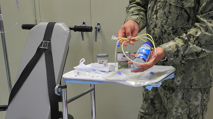 Navy nurse faces expulsion after refusing to force feed Gitmo detainees