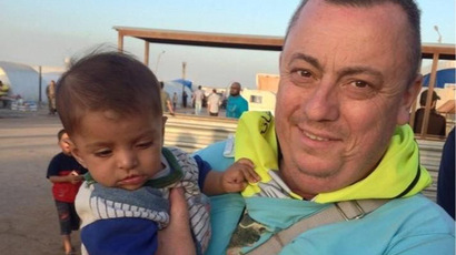 Al-Qaeda made an appeal to the Islamic State to release British hostage, Alan Henning. (AFP Photo / Foreign And Commonwealth Office)