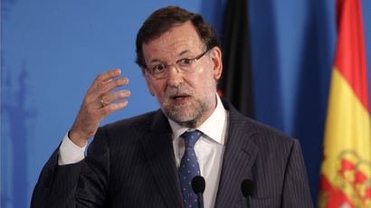 Spanish Prime Minister Mariano Rajoy (Reuters/Miguel Vidal)