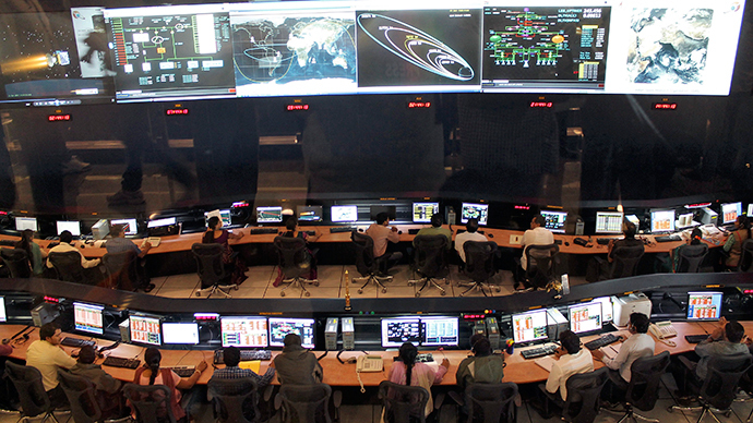 indias lowcost space mission reaches mars orbit � rt news