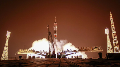 The Soyuz TMA-13M. (REUTERS/Shamil Zhumatov)