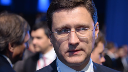 Energy Minister of Russia Alexander Novak.(RIA Novosti / Mihail Mokrushin)