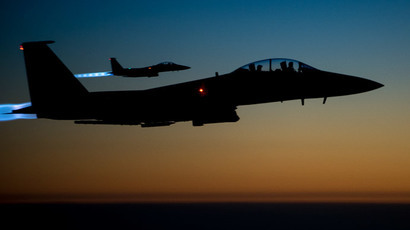 US Air Force F-15E.(AFP Photo / Senior Airman Matthew Bruch)