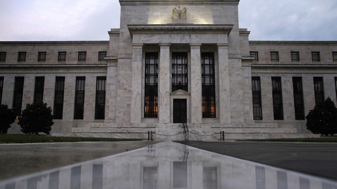 The U.S. Federal Reserve building in Washington (Reuters/onathan Ernst)