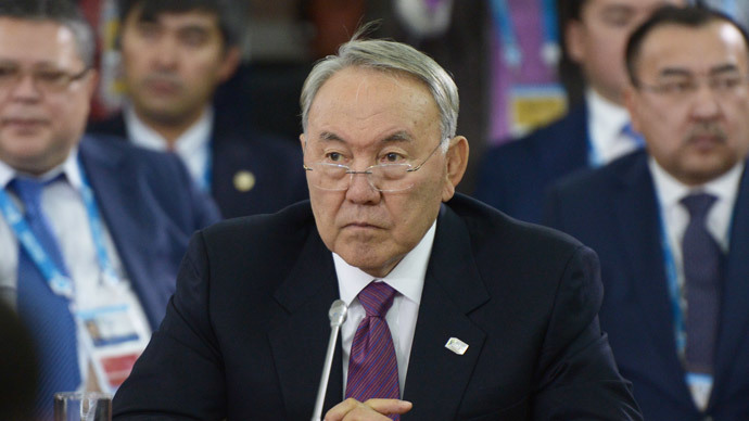 Kazakh president proposes free trade zone with Russia, Iran, other Caspian states