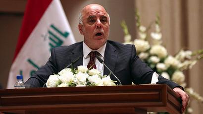 Iraq's Prime Minister Haider al-Abadi (Reuters / Hadi Mizban)
