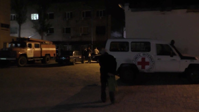Swiss Red Cross worker killed as ICRC's Donetsk HQ, city center shelled