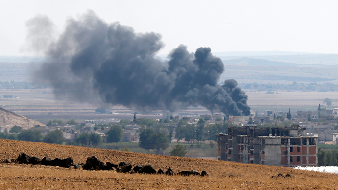 2,000 evacuated as ISIS flag raised on outskirts of Kobani, Syria
