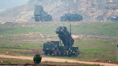 NATO defense missiles arrive in Turkey