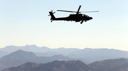 U.S Army Apache helicopter (Reuters / Goran Tomasevic)