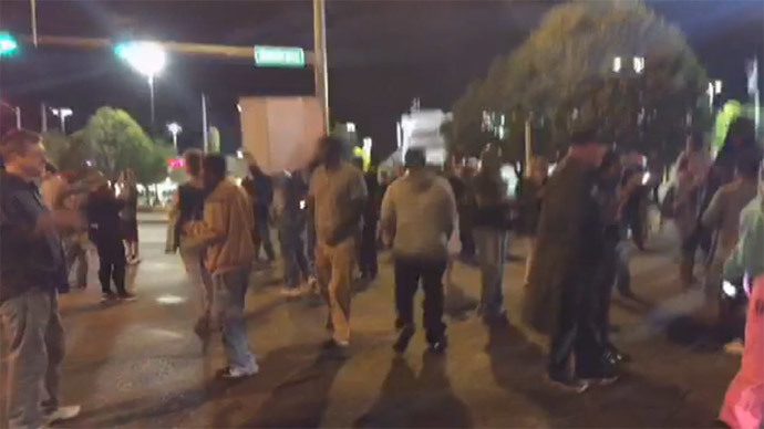 St Louis Protest Armed Black Teen Shot By Cop 17 Times Rt America