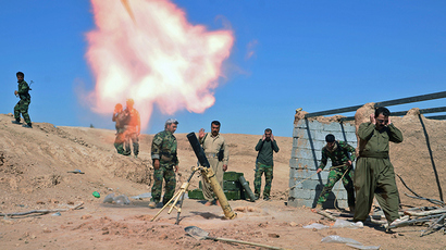 Kurdish peshmerga fighters (Reuters / Stringer)