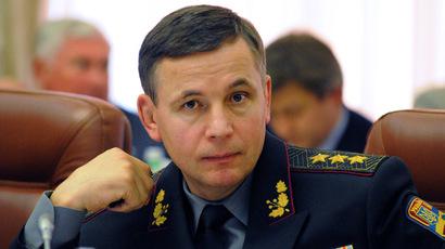 Ukraine's Defense Minister Valery Geletei. (RIA Novosti/Alexandr Maksimenko)