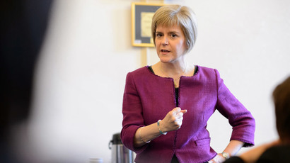 Nicola Sturgeon takes the reigns of Scottish National Party