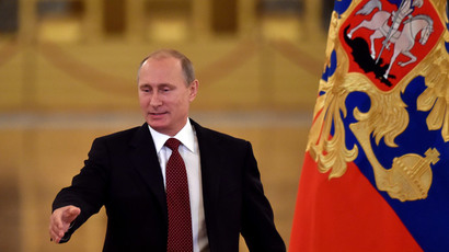 Putin: Russia's isolation is 'absurd & illusory goal'