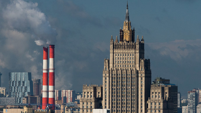View of the Russian Ministry of Foreign (RIA Novosti / Alexander Vilf)