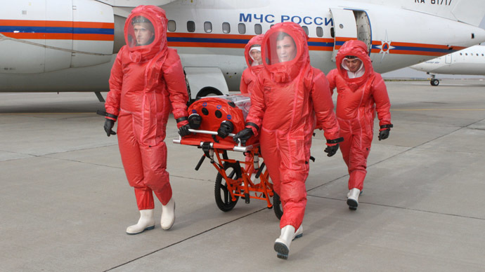 Russian govt orders extra airport facilities to prevent Ebola