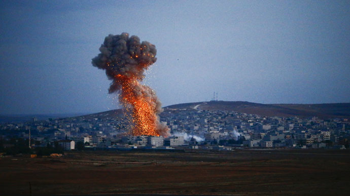 US military targets ISIS, 2 days & 25 airstrikes in Syria and Iraq