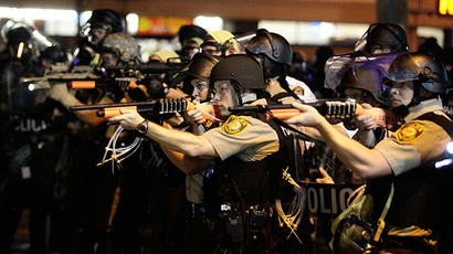 Armed crowd marches through downtown St. Louis (PHOTOS, VIDEO)