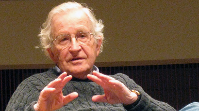 MIT linguistic professor and iconoclastic intellectual and political activist Noam Chomsky (AFP Photo / Virginie Montet)