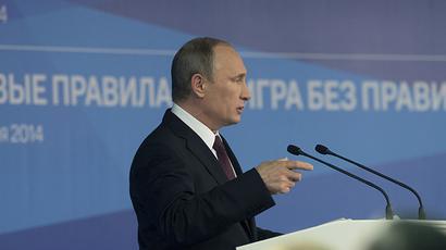 Putin: Russia's plans to solve Ukraine's debt problem rejected