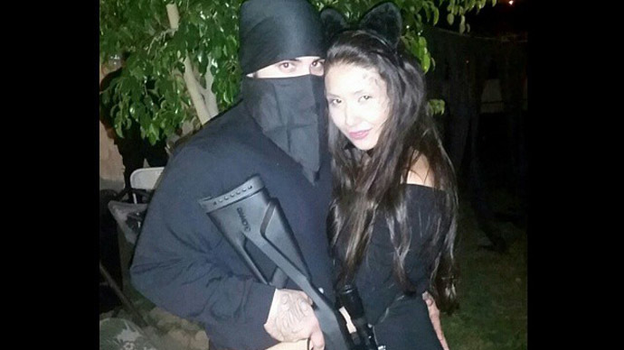 Shameless People Don Isis Attire For Halloween Rt News