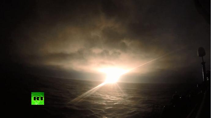 Russian nuclear sub test-fires Bulava strategic missile (VIDEO)