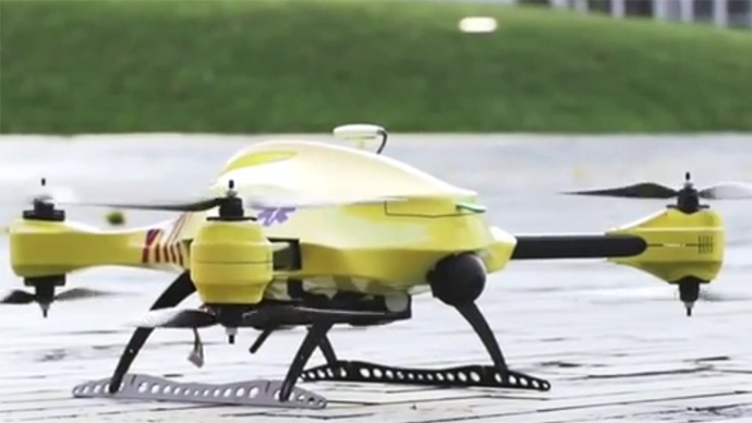 Drone that can save lives: Ambulance UAV hints at future of healthcare (VIDEO)