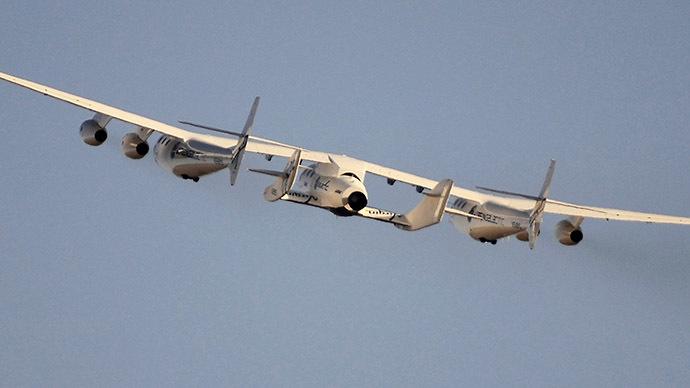 Virgin Galactic's SpaceShipTwo (Reuters/Gene Blevins)