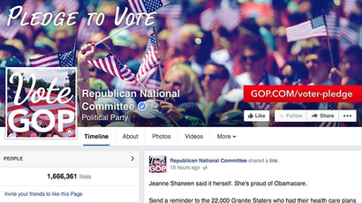 Screenshot from facebook.com (Republican National Committee)