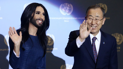 'Thank you, Aussies!' gaffe & Wurst serenades: Ban Ki-moon in Austria