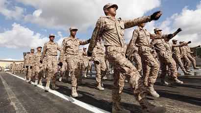 Libyan soldier denies sexually assaulting British women