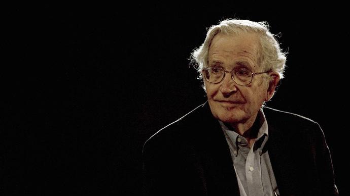 U.S. linguist and philosopher Noam Chomsky (Reuters/Jorge Dan)