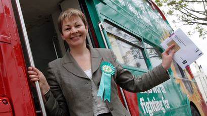 Green Party MP, Caroline Lucas.(Reuters / Luke MacGregor)