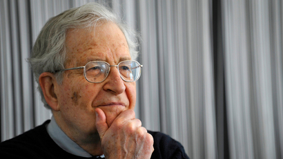 US linguist, philosopher and political activist, Noam Chomsky (AFP Photo DDP / Sascha Schuermann) GERMANY OUT