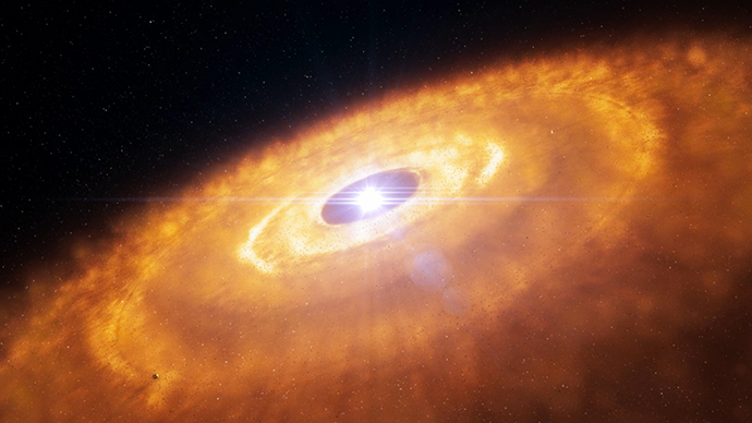 'Revolutionary' planet formation around star captured by ...