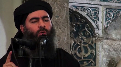 Abu Bakr al-Baghdadi (AFP Photo/HO/Al-Furquan Media)