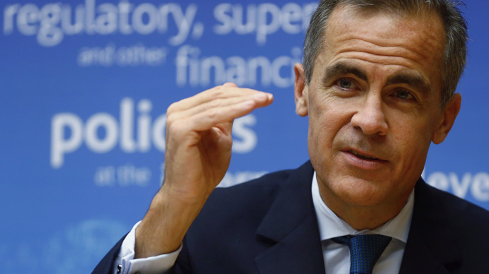 Bank of England Governor and chairman of the Financial Stability Board Mark Carney  (Reuters / Arnd Wiegmann)