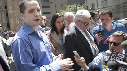 Former New York City police officer Gilberto Valle (L), dubbed by local media as the