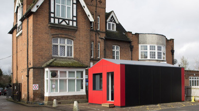 The Y-Cube Deployed. Image Courtesy of Rogers Stirk Harbour + Partners