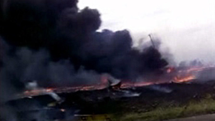 Shocking amateur footage shows MH17 crash aftermath (VIDEO)
