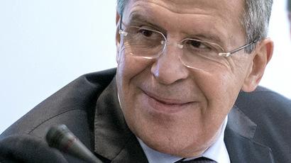Foreign Minister Sergei Lavrov (RIA Novosti/Evgeny Biyatov)