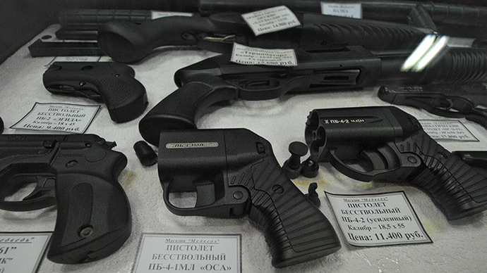 ​Russians can now carry guns for 'self-defense'